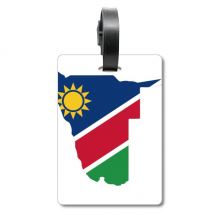 The Republic of Namibia Africa Map Cruise Suitcase Bag Tag Tourister Identification Label