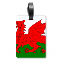 Wales National Flag Europe Country Cruise Suitcase Bag Tag Tourister Identification Label