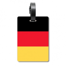 Germany National Flag Europe Country Cruise Suitcase Bag Tag Tourister Identification Label