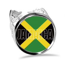 Jamaica Country Flag Name Ring Adjustable Love Wedding Engagement