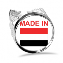 Made In Yemen Country Love Ring Adjustable Love Wedding Engagement