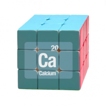 Ca Calcium Chemical Element Science Magic Cube Puzzle 3x3 Toy Game Play