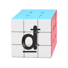 Currency Symbol Vietnamese Dong Magic Cube Puzzle 3x3 Toy Game Play