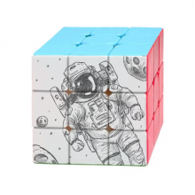 Universe Alien Monster Astronaut Magic Cube Puzzle 3x3 Toy Game Play