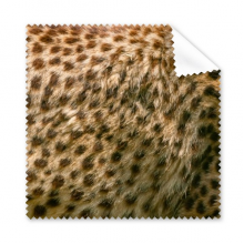 Leopard Feather Abstract Design Cleaning Cloth Phone Screen Glasses Cleaner 5pcs