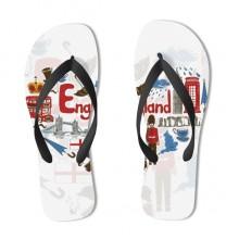 UK England Flip Flops