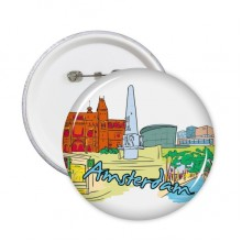 Amsterdam Illustration Badge