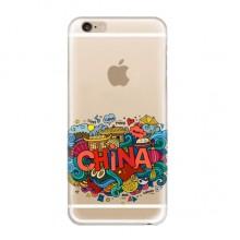 China Soft Transparent iPhone 6/6s Plus Case