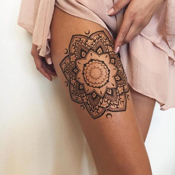 Perfect Mehndi Tattoo Designs By Veronica Krasovska Diythinker